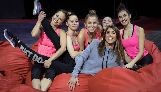 Fotos de los conjuntos que tomarán parte en el campeonato que se disputará entre el 14 y el 16 de diciembre en el Navarra Arena.