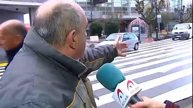 Este es el paso de cebra más grande de España