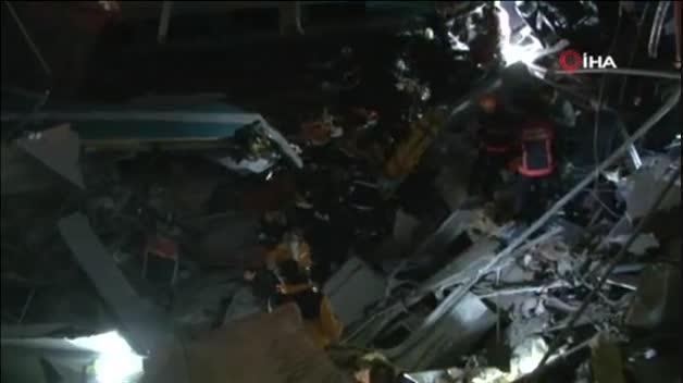 Accidente ferroviario mortal en Ankara (Turquía)