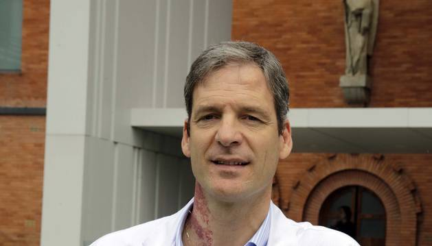 El médico Patxi Uriz Otano, especializado en geriatría.