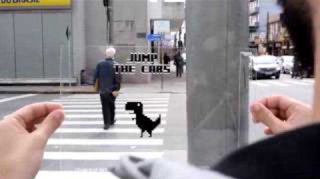 El Offline Dino Jumper revoluciona las calles