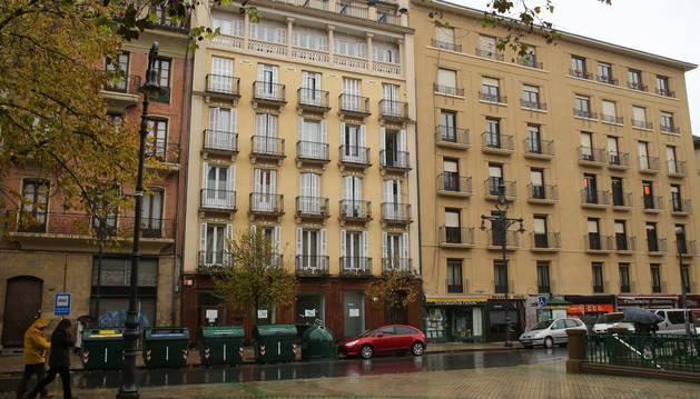 En la tercera planta del edificio del centro se situaban las viviendas comunitarias.