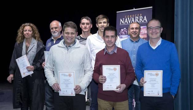 Noáin acogió la presentación del número 53 de la revista, que dedica su portada al Valle de Elorz