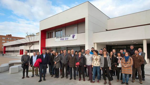foto de Inauguración oficial del instituto IESO Iparralde de San Jorge en Pamplona