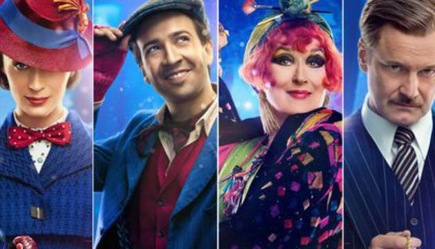 Cartel de la nueva película de Mary Poppins
