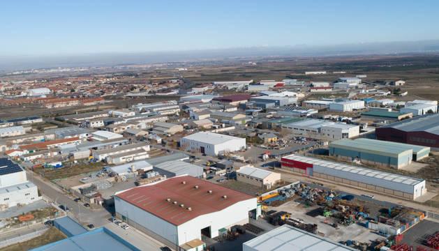 Imagen general del polígono industrial de Cintruénigo.