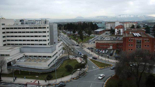 FOTO DE Imagen del Complejo Hospitalario de Navarra.