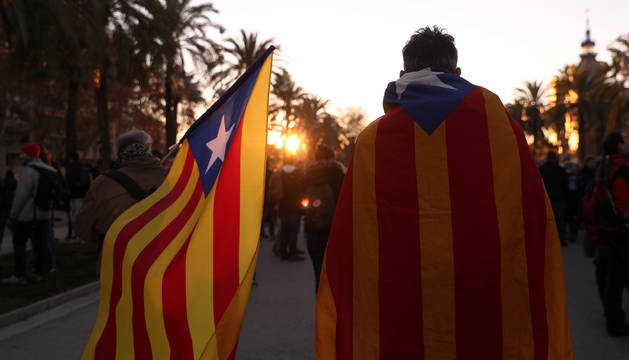 Fotos de la jornada de protestas en Barcelona por la celebración del Consejo de Ministros