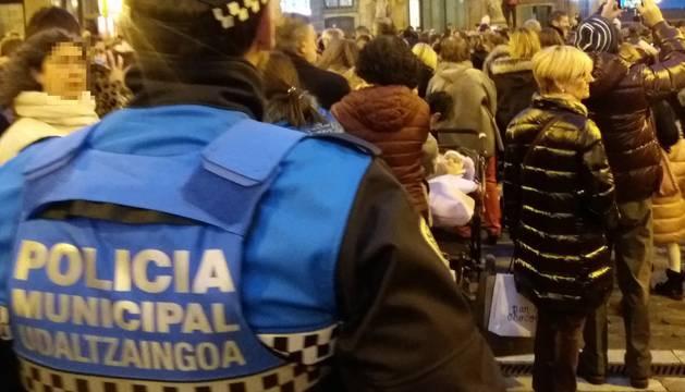Desalojado un bar con 307 personas en Pamplona cuyo aforo límite es de 83