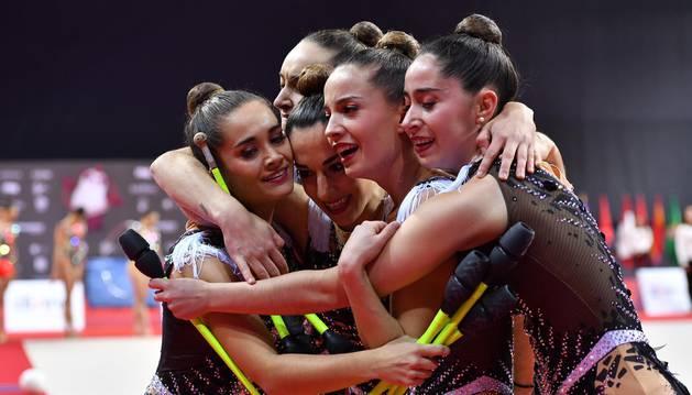 Lagunak sube un peldaño con el cuarto puesto del equipo senior