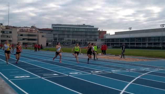 La nueva pista de Larrabide se ha estrenado en competición este sábado