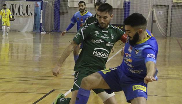 El equipo pamplonés se impuso al Peñíscola y confirmó su buena racha de juego y resultados.