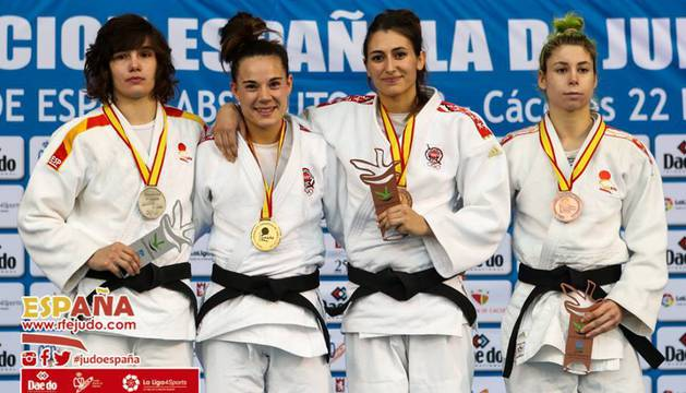 Ekisoain se cuelga la plata nacional; Gracia y Díaz, bronces