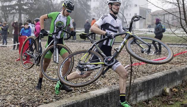 Fotos del I Ciclocross de Pamplona