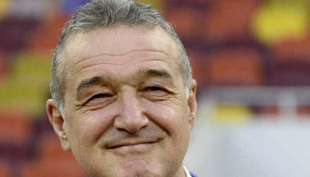 Gigi Becali, presidente del Steaua.