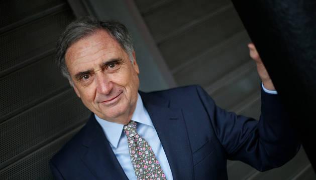 José Antonio Sarría Terrón ha estado dos mandatos (ocho años) al frente de la Confederación de Empresarios de Navarra.