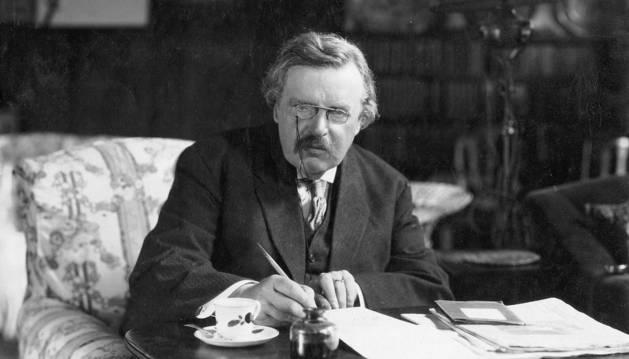 Gilbert Keith Chesterton.