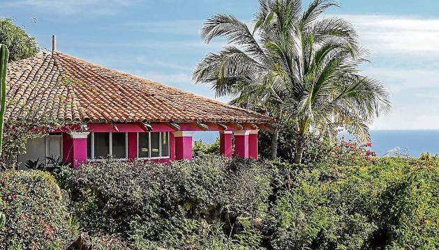 La casa que se construyó el famoso actor imitando las viviendas tradicionales africanas.