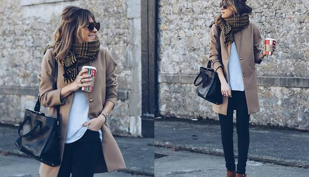 El abrigo camel, uno de los básicos de invierno.