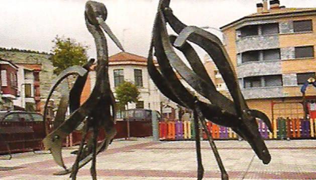 'Cigüeñas', de Pablo Bailo, Lodosa.
