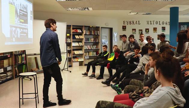 foto de Alumnos que participaron en una de las jornadas de