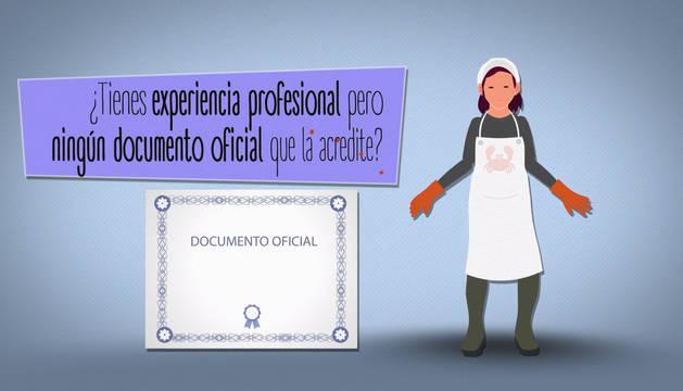 Campaña para promover la acreditación con títulos de la experiencia profesional