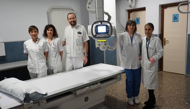El Hospital de Tudela incorpora un nuevo equipo robotizado de radiología