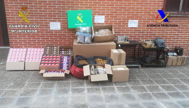 Desarticulado en Navarra un grupo criminal dedicado a la distribución ilegal de tabaco