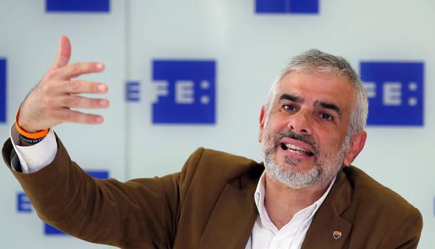 El portavoz de Ciudadanos en el Parlamento de Cataluña, Carlos Carrizosa.