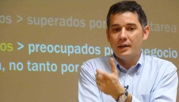 Ramón Salaverría, profesor e investador sobre medios digitales de la Universidad de Navarra.