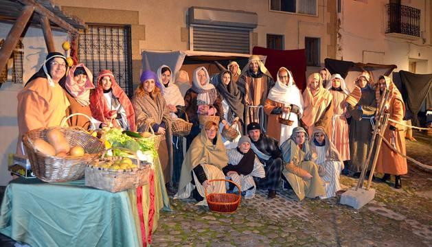 Todas las fotos del belén viviente de San Adrián 2018