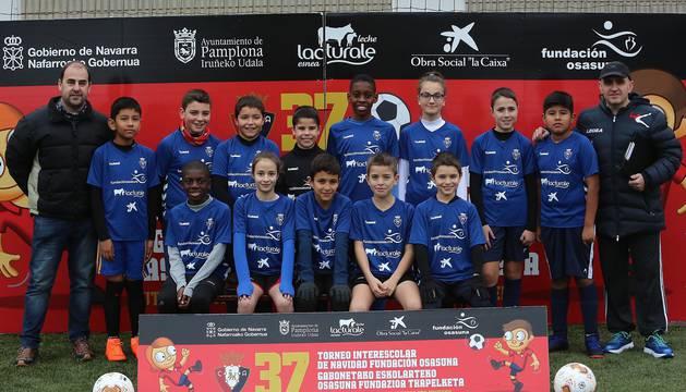 Fotos de los equipos del XXXVI Torneo Interescolar Fundación Osasuna