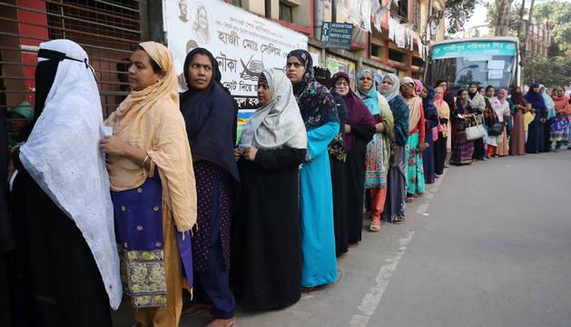 Unos 104 millones de habitantes, de 164, estaban llamados a votar.