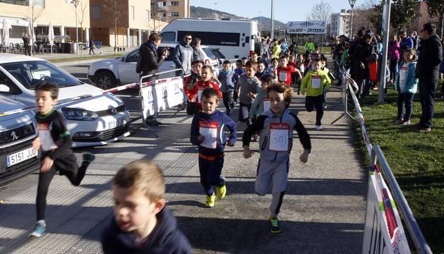 Fotos de la carrera de San Silvestre en Buztintxuri