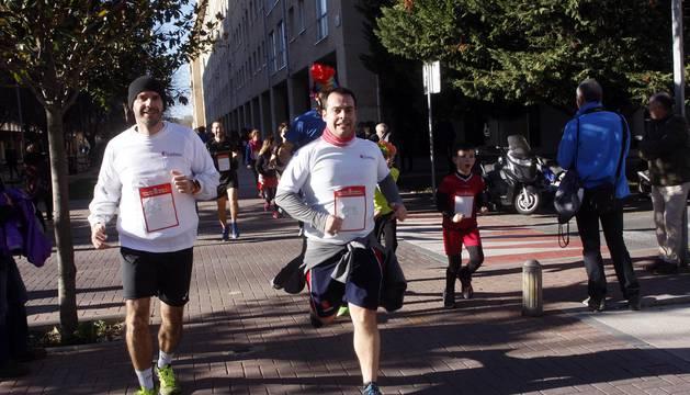 Fotos de la carrera de San Silvestre en Barañáin