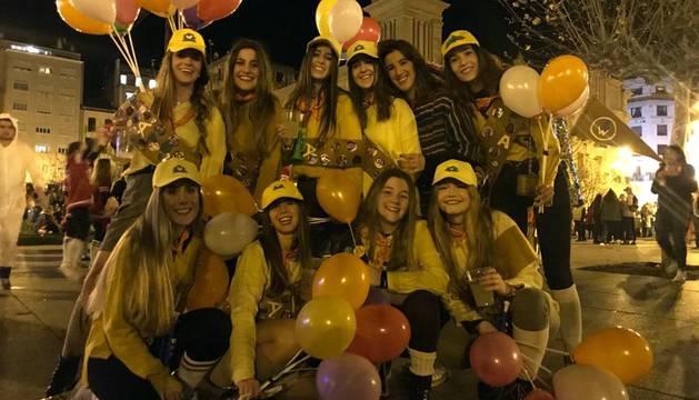 Pamplona vuelve a recibir el año disfrazada