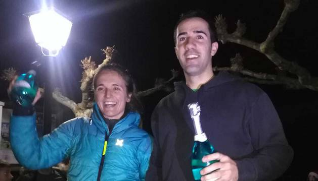 Éxito de participación en la San Silvestre de Isaba