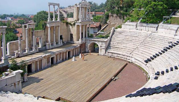 Teatro romano de Plovdiv