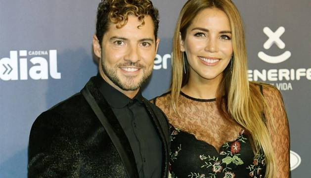 David Bisbal y su mujer