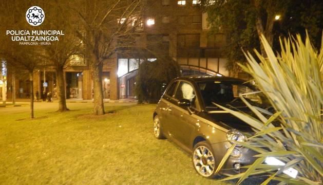 Un vehículo denunciado en Yamaguchi en Nochevieja.