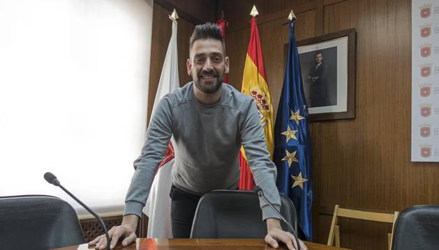 Foto de Javier López Álvarez, ayer en el salón de plenos que dejará atrás el próximo mes de  mayo.