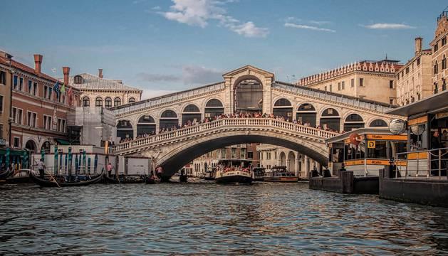 La ciudad de Venecia.