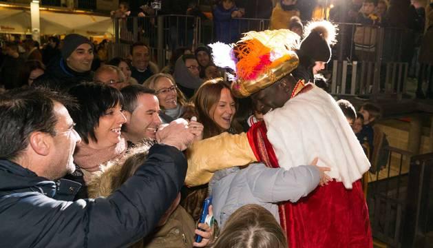 Cabalgata de los Reyes Magos en Tudela 2019