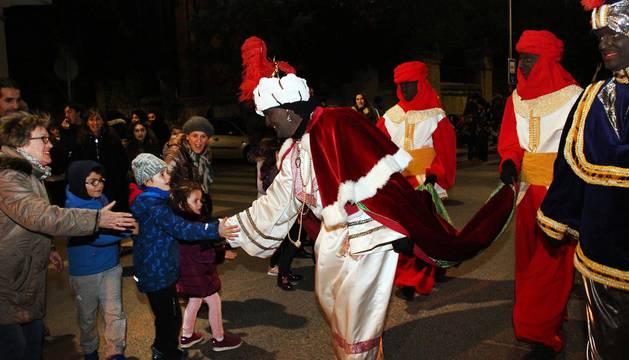 Cabalgata de los Reyes Magos en Sangüesa