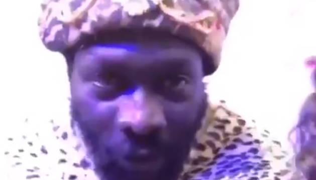 El Rey Baltasar en un vídeo en el que pide disculpas.