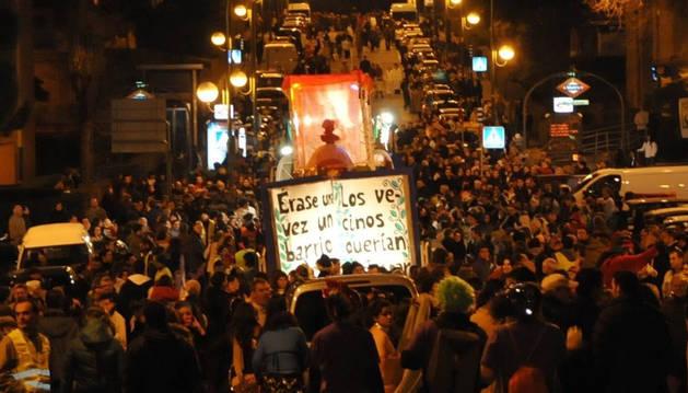 Imagen de la Cabalgata participativa de Hortaleza (Madrid) del año pasado.