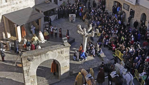 Fotos del Misterio de los Reyes Magos en Sangüesa