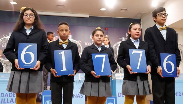 El número 61.776, agraciado con el segundo premio de El Niño.
