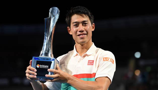 Nishikori conquista Brisbane y gana un título casi tres años después