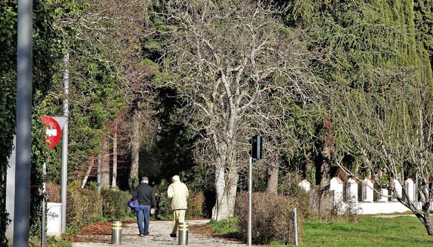 Foto del entorno del parque de Aranzadi busca transformarse en núcleo para todos los ciudadanos.
